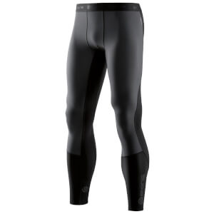 Skins Men's DNAmic Thermal Windproof Long Tights - Black