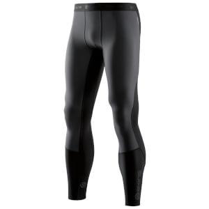 Skins Men's DNAmic Thermal Windproof Long Tights - Black