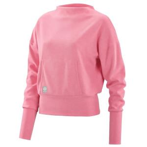 Skins Women's Activewear Wireless Sport Sweatshirt - Pink