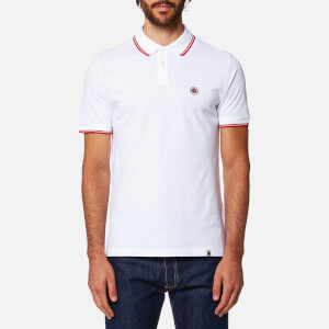 Pretty Green Men's Barton Short Sleeve Polo Shirt - White