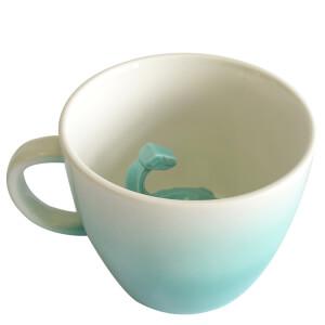 Dinosaur Mug - Turquoise