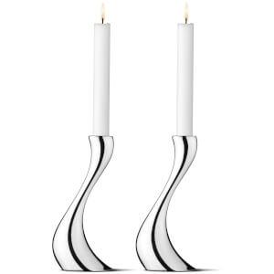 Georg Jensen Cobra Candleholder - Medium - Set of 2