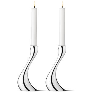 Georg Jensen Cobra Candleholder - Medium - Set of 2