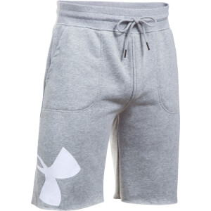 Under Armour Men's Rival Exploded Graphic Shorts - Grey