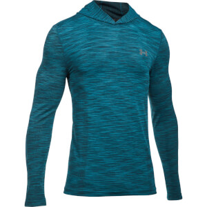 Under Armour Men's Threadborne Seamless Hoody - Blue