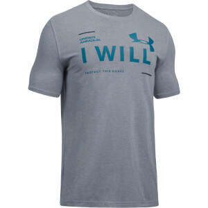 Under Armour Men's I Will T-Shirt - Grey