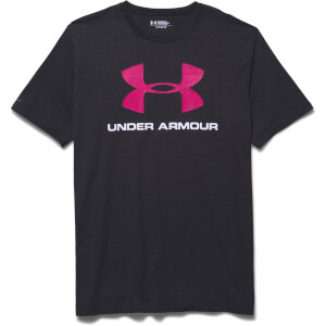 Under Armour Men's Sportstyle Logo T-Shirt - Black/Red