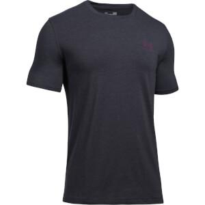 Under Armour Men's Sportstyle Left Chest Logo T-Shirt - Black/Red