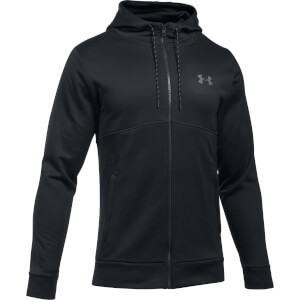 Under Armour Men's AF Full Zip Hoody - Black