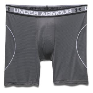 Under Armour Men's Iso-Chill Mesh 6 Inch Boxerjock - Dark Grey