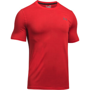 Under Armour Men's Threadborne Fitted T-Shirt - Red