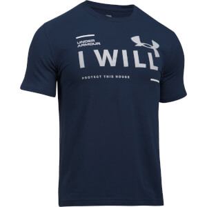 Under Armour Men's I Will T-Shirt - Navy