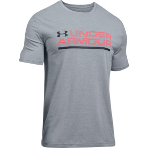 Under Armour Men's Woodmark Lock Up T-Shirt - Grey