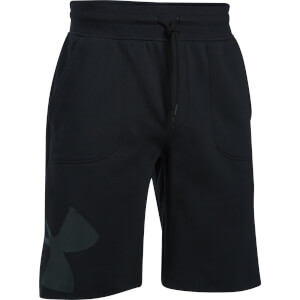 Under Armour Men's Rival Exploded Graphic Shorts - Black