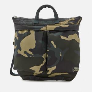 Porter-Yoshida & Co. Men's Counter Shade Helmet Bag - Woodland Khaki