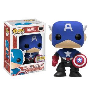 SDCC 17 Marvel Captain America (Bucky Cap)EXC Pop! Vinyl Figure