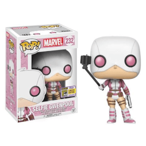 SDCC 17 Marvel Gwenpool with Selfie Stick Pop! Vinyl Figure