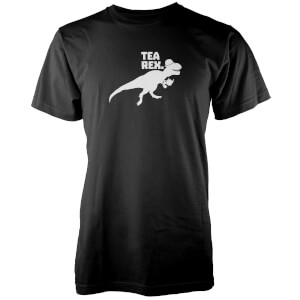 Tea Rex Black T-Shirt