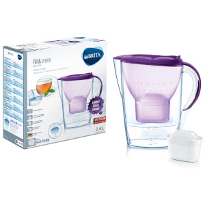 BRITA Maxtra+ Marella Cool Water Filter Jug (Limited Edition) - Purple