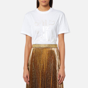 Christopher Kane Women's Melange K T-Shirt - White