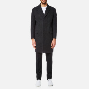 Matthew Miller Men's Durden Top Coat - Black
