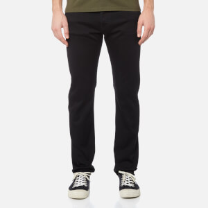 Edwin Men's ED-80 Slim Tapered Jeans - Rinsed Black