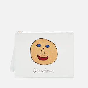 Christopher Kane Women's Gugging Art Clutch Bag - Gugging Smile