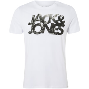T-Shirt Homme Core Scallop Jack & Jones - Blanc