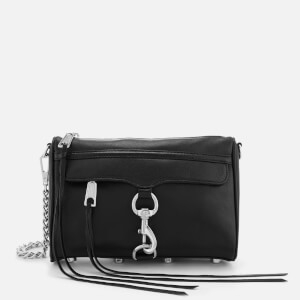 Rebecca Minkoff Women's Mini Mac Smooth Leather Bag - Black