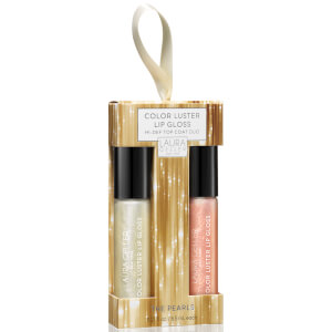 Laura Geller New York Color Luster Lip Gloss Hi-Def Top Coat - The Pearls