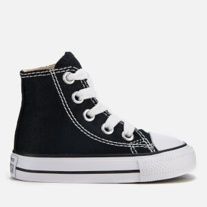 Converse Toddlers' Chuck Taylor All Star Hi-Top Trainers - Black