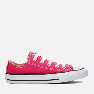 Converse Kids Chuck Taylor All Star Ox Trainers - Pink Pow