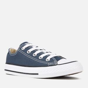 Converse Kids Chuck Taylor All Star Ox Trainers - Navy: Image 2