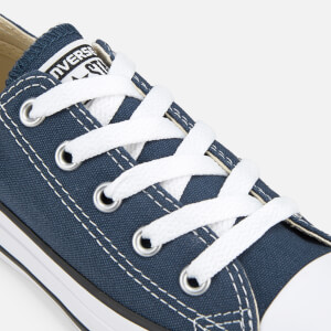 Converse Kids Chuck Taylor All Star Ox Trainers - Navy: Image 6