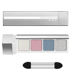 RMK FFFuture Eyeshadow Palette - Fu Silk Satin White 2.8g