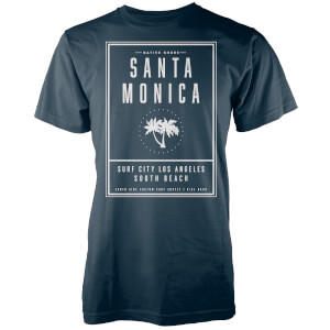 Native Shore Men's Santa Monica LA T-Shirt - Navy