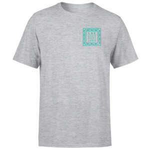 T-Shirt Homme LAX 1989 Native Shore - Gris Clair Chiné