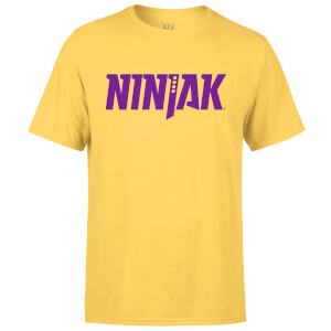 Valiant Comics Ninjak Logo T-Shirt - Yellow