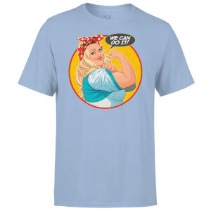 Valiant Comics Faith We Can Do It! T-Shirt - Baby Blue