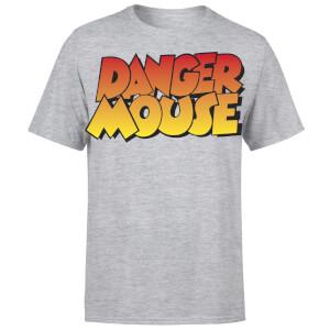 Danger Mouse Four Colour Logo T-Shirt - Grey
