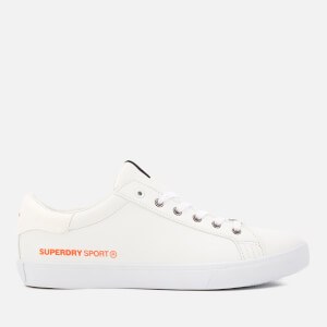 Superdry Men's Mono Tennis Trainers - Optic/Optic