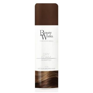 Beauty Works Dry Foam Shampoo 150ml - Light Brown