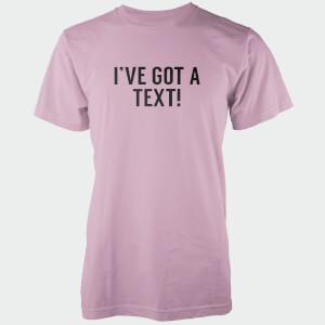I've Got A Text! Men's Pink T-Shirt