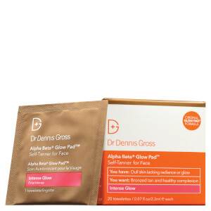 Dr Dennis Gross Alpha Beta Intense Glow Pad for Face (20 Pack)