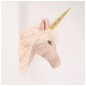 Sass & Belle Velveteen Magical Unicorn Head Wall Decoration