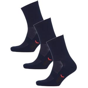 PBK Lightweight Socks Multipack - 3 Pairs - Blue