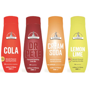 SodaStream Classics Mixed Pack Sparkling Drink