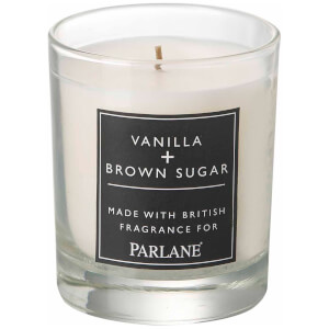 Parlane Vanilla & Brown Sugar Glass Votive Candle (8 x 7cm)