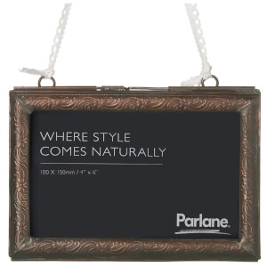 Parlane Verity Metal Photo Frame (10 x 15cm) - Antique Bronze