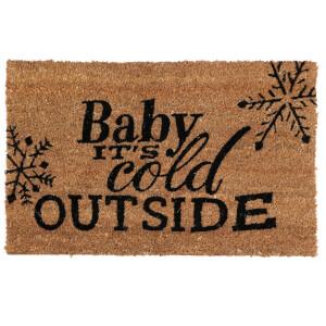 Premier Housewares Cold Outside Doormat